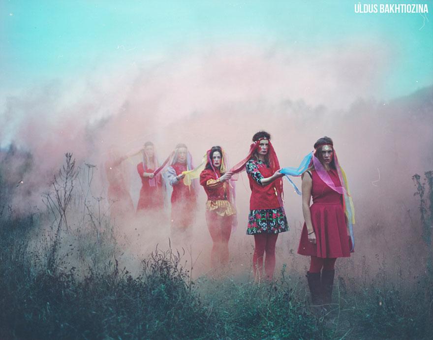 Russian fairy tales surreal photograpjhy uldus bakhtiozina 16