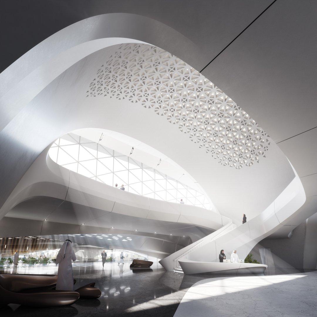 Zaha Hadid Architects The Dune Inspired Building