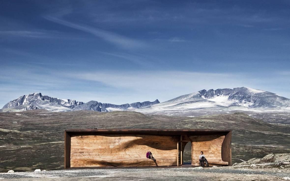 reindeer norwegian-wild-reindeer-centre-pavilion-snøhetta-2